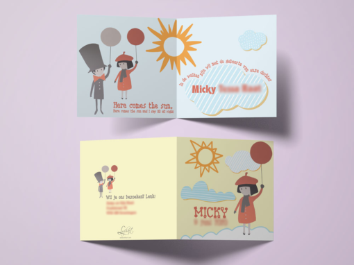 BIRTH CARDS DESIGN